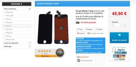 Que faire quand on a cassé l'ecran de son iphone 5s ?