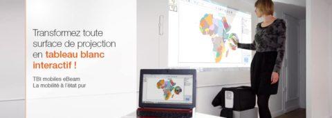Le tableau blanc interactif pour enseigner plus facilement